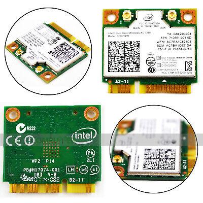 Intel 7260 802.11ac Bluetooth 4.0 Wireless-AC Notebook DUAL BAND 867Mbps 7260HMW