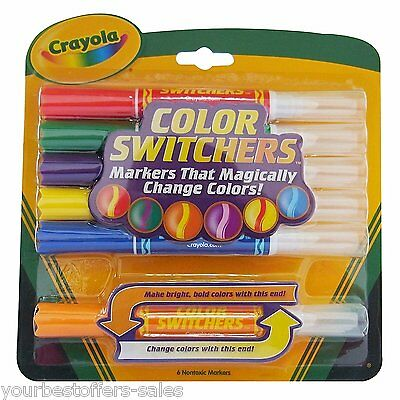 Crayola Markers Color Changing Magic Color Art Supplies Assorted Kids Craft New