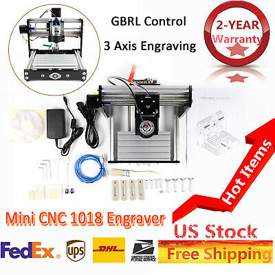 Mini Cnc 1018 3 Axis Engraver Machine For Pcb Wood Carving Diy Milling Machine