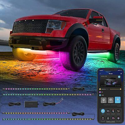 Govee Exterior Car LED Lights, RGBIC Underglow Car Lights W/ App and Remote