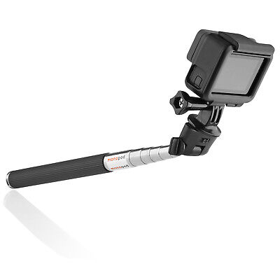 Circuit City Extendable Selfie Stick Monopod for GoPro Hero Action Video Camera