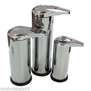 Automatic Soap Dispenser Hands Touch Free Standing Counter Top Auto Bathroom Ebay