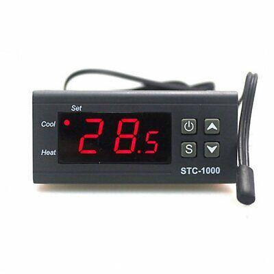 Termostato Digital 220V STC1000 Frio/Calor Incubadoras Acuario sonda temperatura