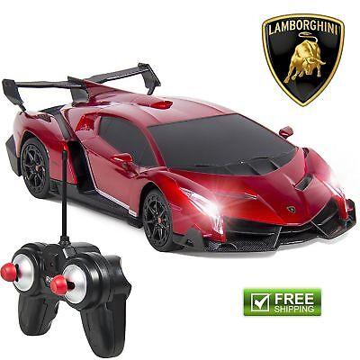 Best Choice Products 1/24 Officially Licensed RC Lamborghini Veneno Sport (Best Lamborghini Rc Car)
