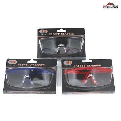 Protective Eyewear Safety Goggle Glasses Adjustable Work New