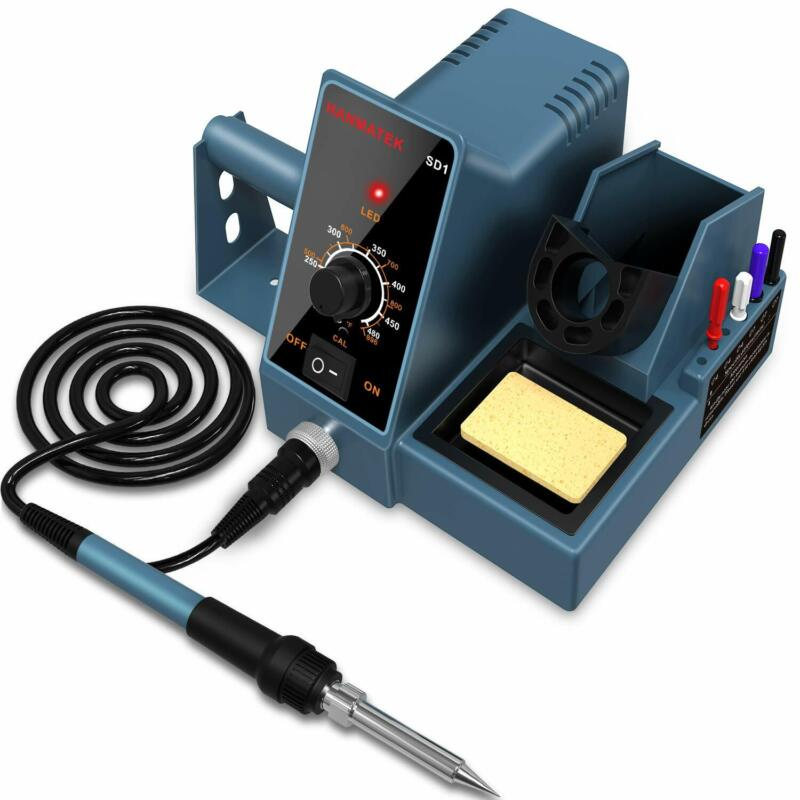 Soldering Station Weller Soldering Iron Kit Temperature Adjustable Rapid Heating