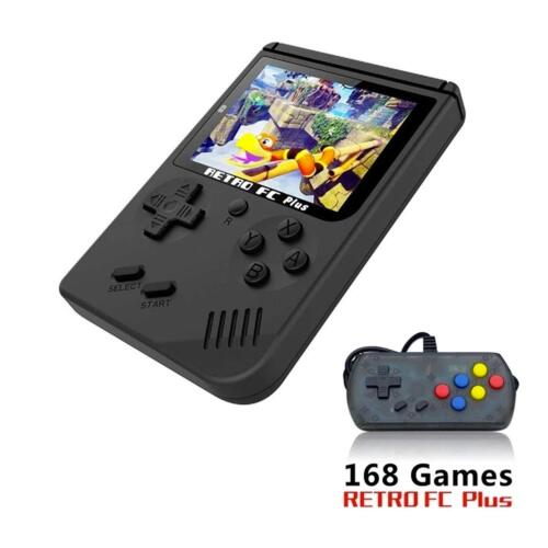 RETRO Classic Mini Portable NES Video TV HANDHELD Game Console Built-in 168 Game