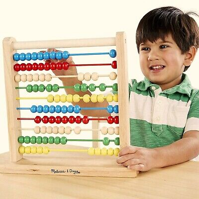 Best Educational Counting Toys Melissa & Doug Abacus Classic Wooden Toy
