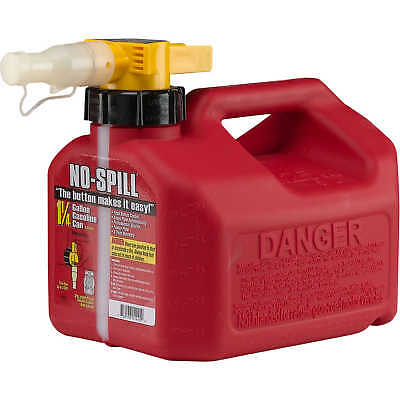 No-spill Carb Compliant Gasoline Can 1.25 Gallon