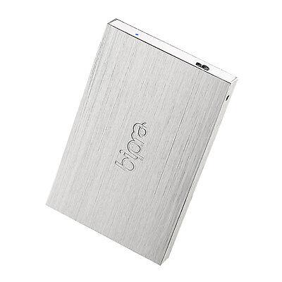 Bipra 500GB 2.5 inch USB 3.0 Mac Edition Slim External Hard Drive - Silver