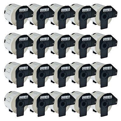 20 Roll 29mm Address Label Dk1209 Dk-1209 For Brother Wframe Ql-1050n Ql-710w