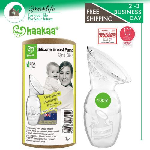 Haakaa Breast Pump Manual Breast Pumps Silicone Breastfeeding Pump Milk Pump 100
