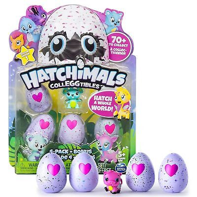 NEW Hatchimals Colleggtibles - 4-Pack (Colors/ Styles May Vary) New with boxed.