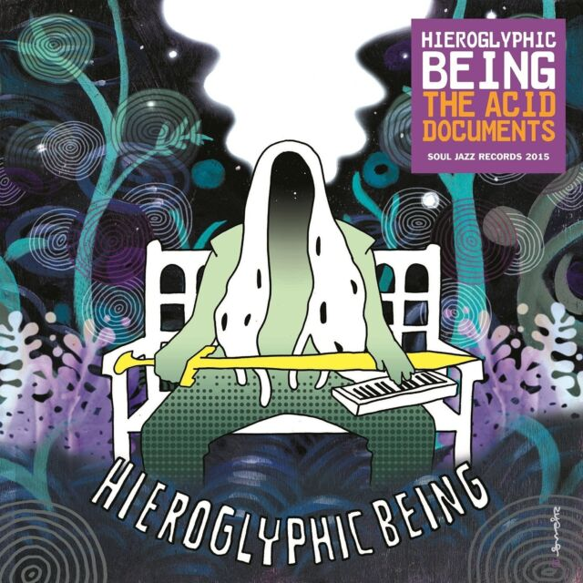 HIEROGLYPHIC BEING - THE ACID DOCUMENTS  CD NEU