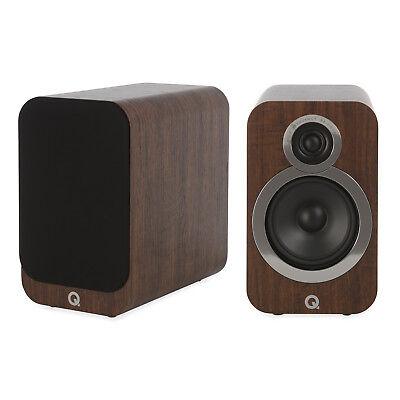 Q Acoustics 3020i Regallautsprecher Nussbaum (Paar)