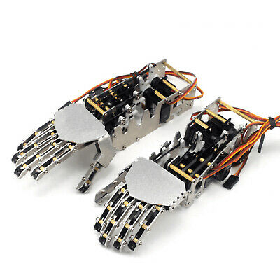 Sainsmart 5-dof Humanoid Robotic Arm Left Right Hand With Servo For Robot Us