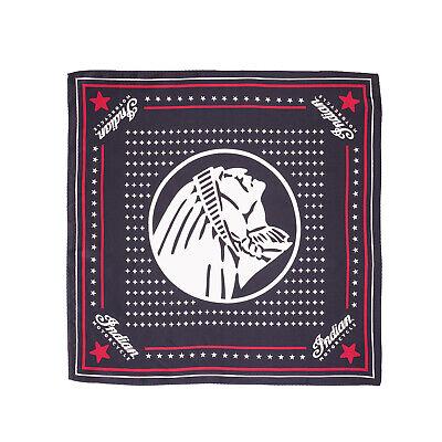 Indian Motorcycle Headdress Silk Bandana, Black - 2869762