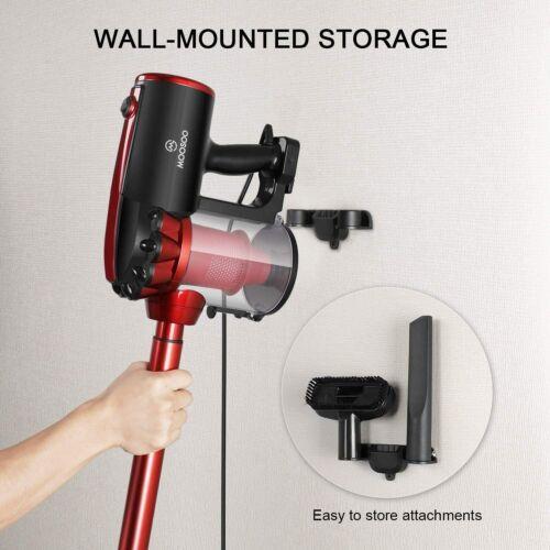 Moosoo Vacuum Cleaner Corded 17kpa Suction Stick Vacuum 2 In 1 Vacuum Handled Us