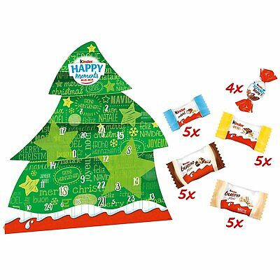 Kinder FRIENDS Happy Moments ADVENT Calendar 1ct. Christmas 2020 FREE SHIPPING