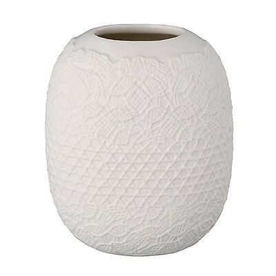KINTO COUTURE Flower Vase S Lace 16378 Porcelain from JAPAN