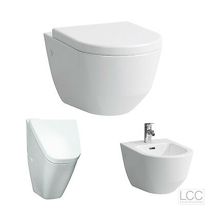 LAUFEN PRO SPÜLRANDLOS WAND-WC 820966 + WC-SITZ ABSENKAUTOMATIK SOFTCLOSE LCC