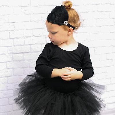 Kids Girls Party Costume Petticoat Ballet Princess Tutu Skirt Pettiskirt Qute