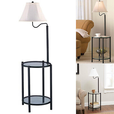 Floor Lamps For Living Room With Shelves Reading Bedroom End Table Lamp Modern Bronze Living Room End Table