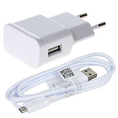Caricabatterie 2A Per Samsung per Huawei per Microsoft per LG + Cavo...