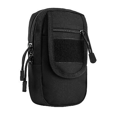 NcStar VISM BLACK Large Utility Cell Phone GPS EMT First Aid MOLLE PALS Pouch