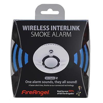 FireAngel WST630 Radio-Interlink Smoke Alarm with 10 Year Lithium Battery