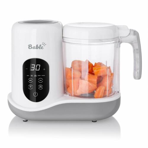 Bable 6 in 1 Baby Food Maker for Toddlers - Multifunctional Food Processor with