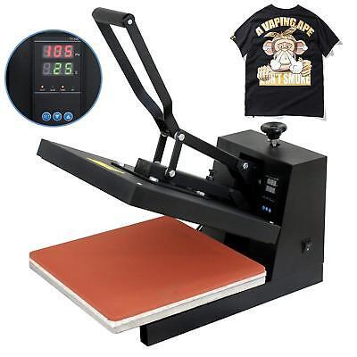 "15""X15"" DIY Digital Clamshell T-shirt Heat Press Machine Sublimation Transfer for sale  New Castle"