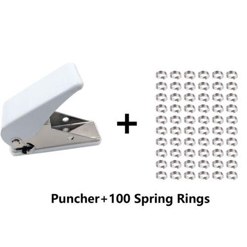 Dart Flights Puncher+100Spring Rings Dart Accessories for Plastic shaft CyeeLife