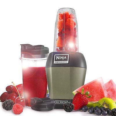 Nutri Ninja 900W Blender & Smoothie Maker – BL450UKSA – Sage   CLEARANCE