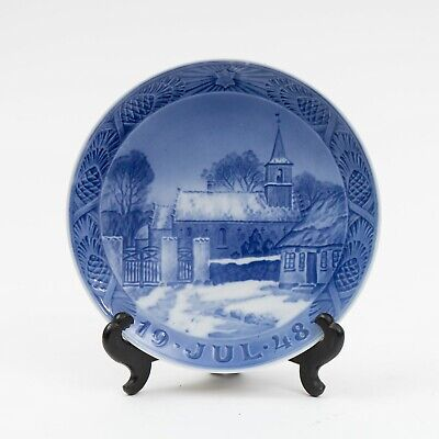 1948 Royal Copenhagen Christmas Plate