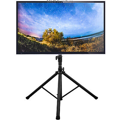 Flat Screen TV Tripod Stand with Swivel & Tilt Mount for 37-70 inch LCD LED TVs Flat Screen Swivel Stand