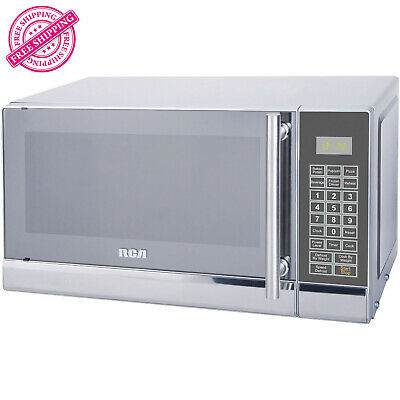 RCA 700 Watts 0.7 Cu. Ft. Stainless Steel Microwave Countert