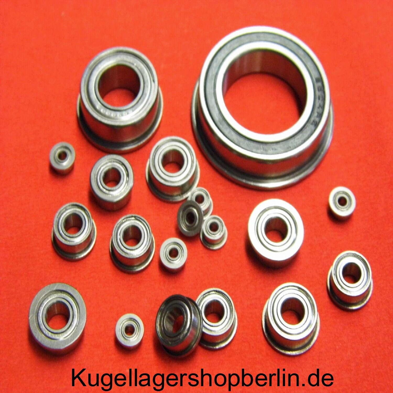 4x8x3 Miniatur Kugellager MF84 2RS MF 84 2RS
