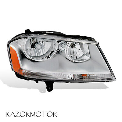 2008-2010 Right Replacement Headlight For Dodge Avenger Included Bulbs / Sockets