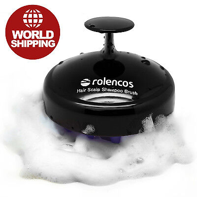 Rolencos Hair Scalp Brush Shampoo Massager