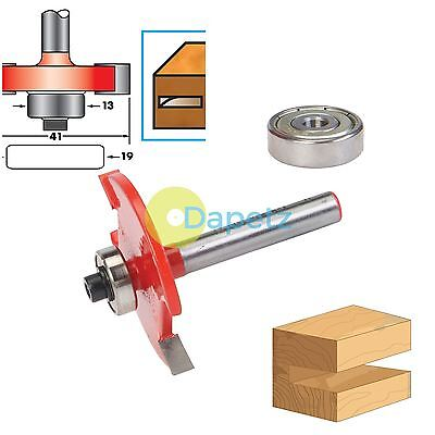 "1/4"" Shank Biscuit Cutter Router Bits No.10 & 20 TCT Biscuit Joiner Set"