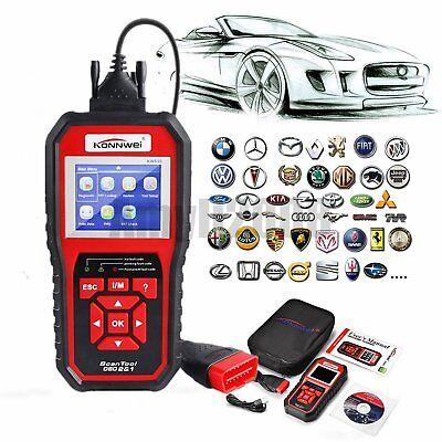 OBD2 EOBD Automotive Check Engine Erase Car Code Reader Diagnostic Scanner KW850