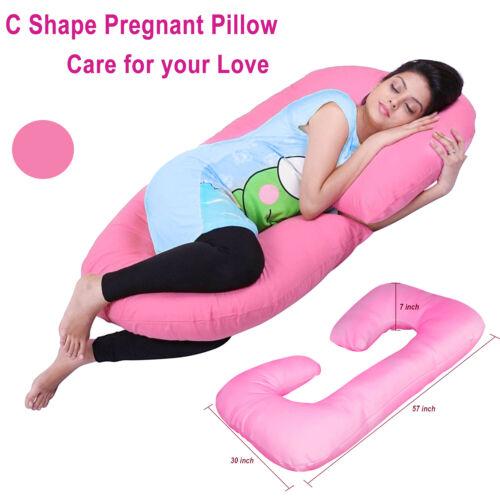c shape full body maternity pillow nursing