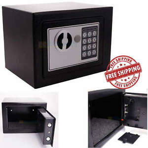 Box Safe Digital Steel Electronic Lock Home Security Office Gun Money Fireproof