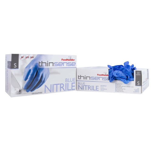 Nitrile Gloves SMALL BLUE (4 Box of 250) CASE 1000ct