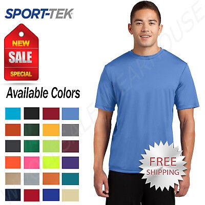 Dri Fit Shirt - Sport Tek Men's Dri-Fit PosiCharge Workout S-4XL T-Shirt M-ST350