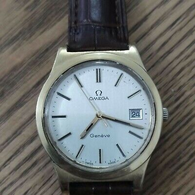 Vintage Omega Geneve Men's Manual Watch GREAT BIG WATCH  ** REDUCED**