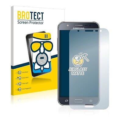 Protector Pantalla para Samsung Galaxy J5 2015 Cristal Mate Lamina de Vidrio