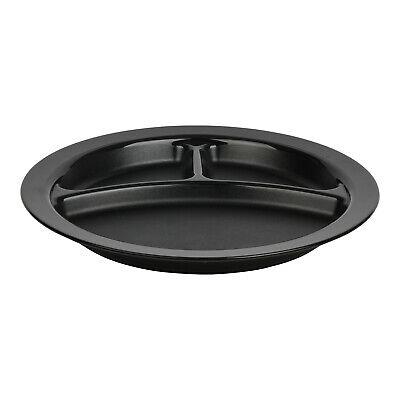 Cambro Camwear Black 9 3 Compartment Plate Case Of 48