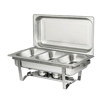 3 L 3.2 Quart Full Buffet Catering Stainless Steel Chafer Chafing Dish Sets